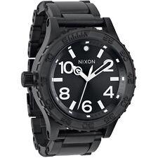 New in Box Nixon 51-30 TI All Black Men's Watch A351001 A351-001