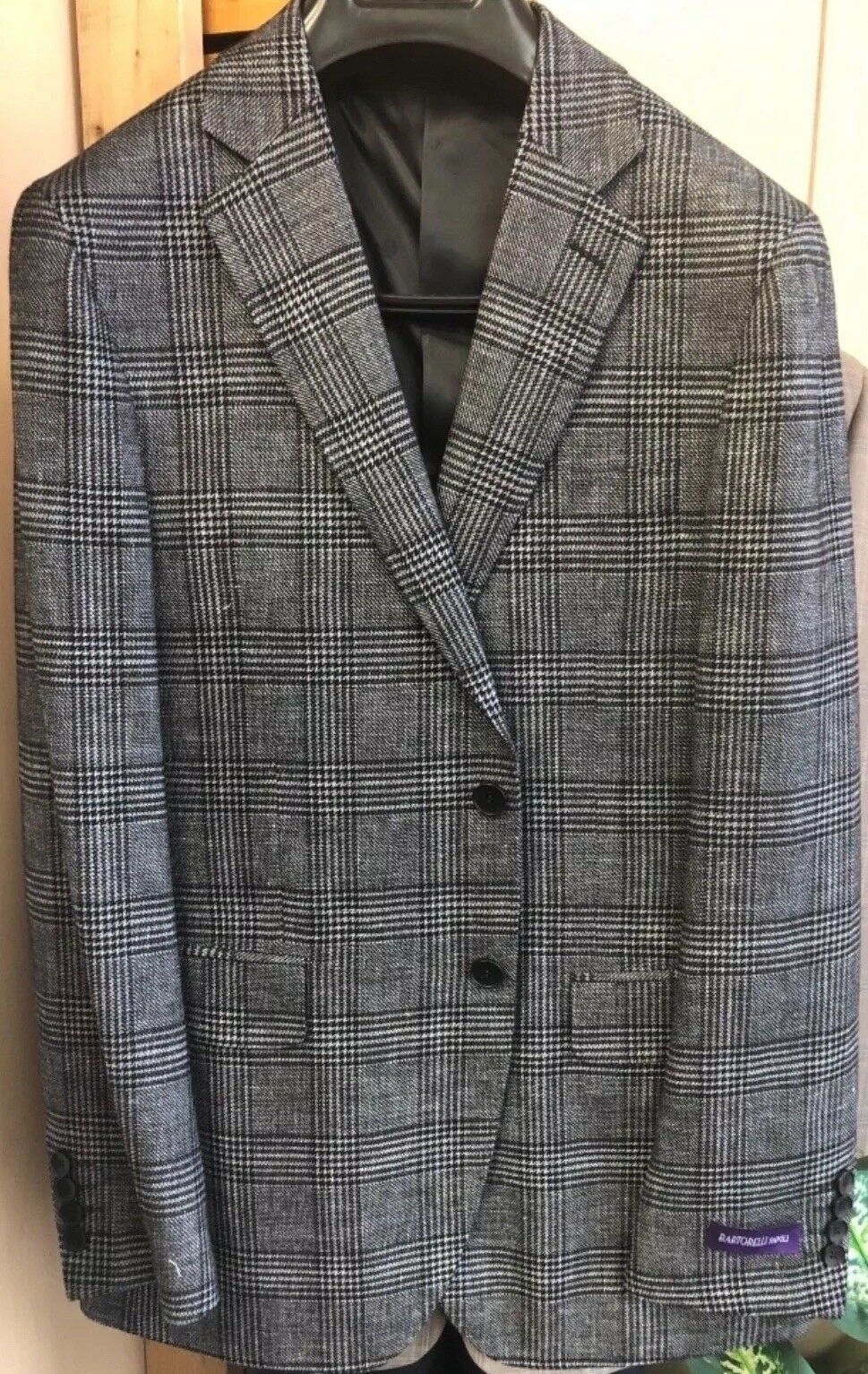 Men's Bartorelli Napoli Blazer Linen And Wool Sportcoat