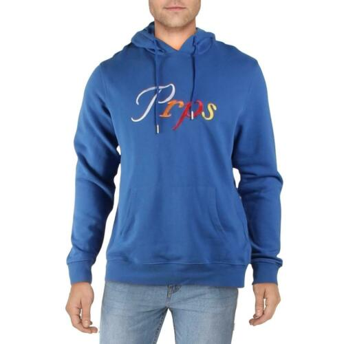 PRPS Mens Hoodie Embroidered Logo Pullover Sweater Top BHFO 6787
