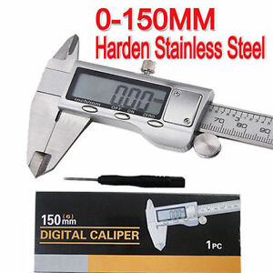 Brand New Stainless Steel Digital Vernier Caliper Micrometer  Guage 0-150mm AU