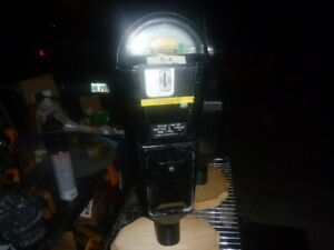 Collectibles with wood base Other Automobilia Vintage Duncan Miller Parking Meter