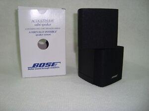 BOSE-Lautsprecher-Schwarz-Neuwertig-Lifestyle-amp-Acoustimas-TOP-OVP-Heimkinosystem