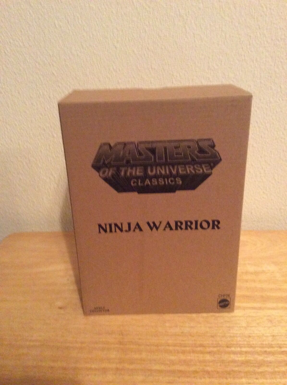 MOTUC - Ninja Warrior Figure Masters Of The Universe Classics New He-Man Mattel