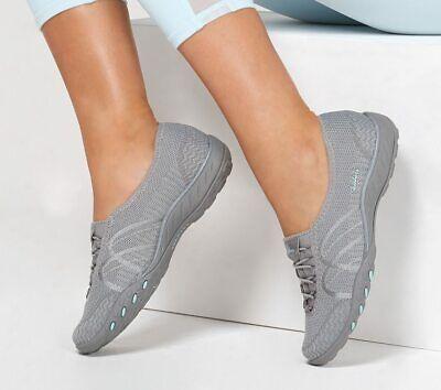 Skechers Knit Bungee Slip On Shoes