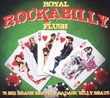ROYAL ROCKABILLY FLUSH (Elvis Presley Billy Lee Riley,Johnny Burnette) 3 CD NEU