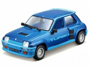 RENAULT 5 Turbo - 1982 - bluemetallic - Bburago 1:32