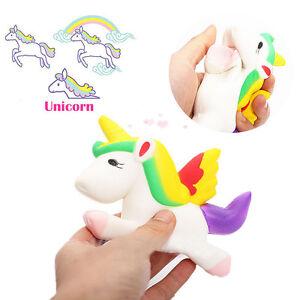 Squishy Cat Unicorn : Kawaii Unicorn Squishy Slow Rising Cartoon Doll 12CM Press Toy eBay