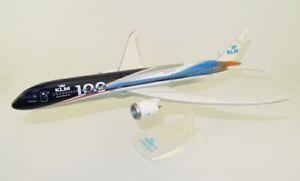 KLM-100-Edizione-Limitata-Boeing-787-Scala-1-200-Modellino-Da-Collezione-B787