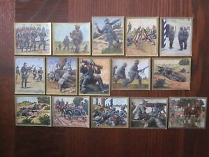15-color-German-cigarette-cards-of-the-German-Military-issued-1933