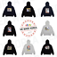 BT21-Character-Space-Squad-Hoodie-Zip-up-8types-Official-K-POP-Authentic-Goods miniature 1