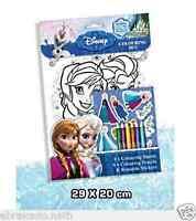 Set Coloriage Reine Des Neiges Frozen Crayon Stickers Disney