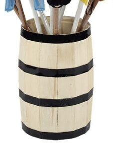 Mary Meyer E8 Storage Home Decor Bar Wine Wood Barrel 22in 10015