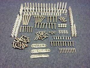 pcs Team Associated NEW Stadium SC10B Stainless Steel Hex Head Screw Kit 175+