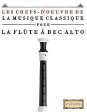 Les Chefs-D'oeuvre de la Musique Classique Pour la Flûte à Bec Alto : Pièces...