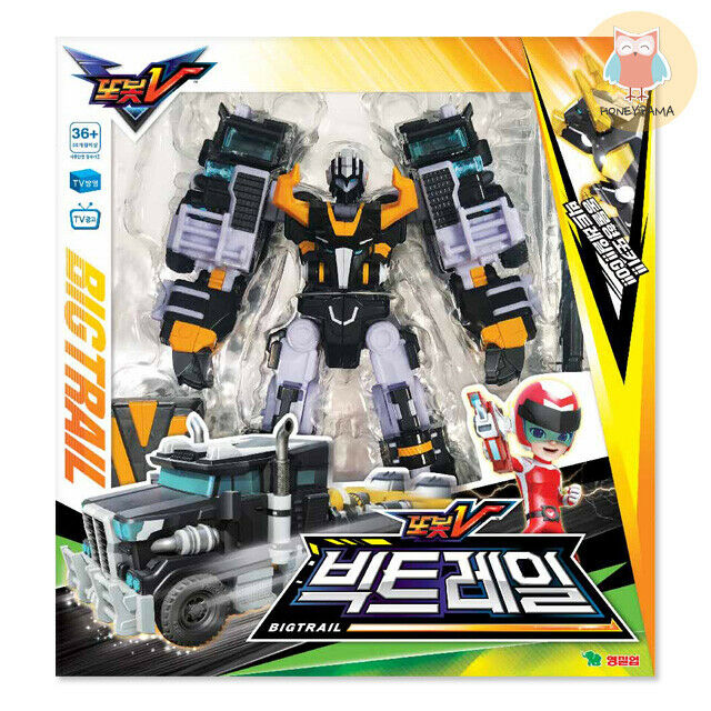 TOBOT V BIGTRAIL Big Trail Transformer Robot Car Bison Integration Troll