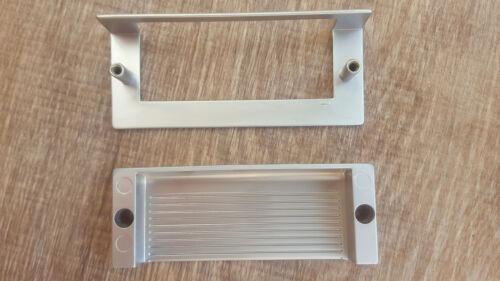 1X INSERT Poignée Matt Chrome 96 mm-Tiroir Armoire Cabinet Pull Poignées