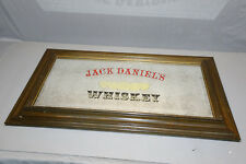 JACK DANIEL'S Old Time Tennessee WHISKEY BAR PUB MIRROR VINTAGE