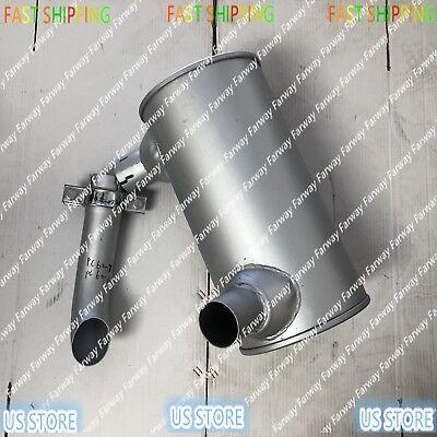 6205-11-5220 muffler with u blot FITS KOMATSU  PC60-6 PC70-7 PC60-7 4D95