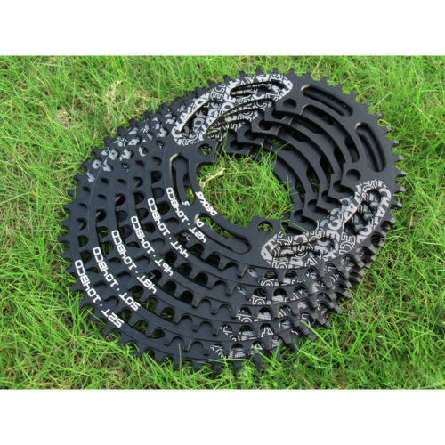 MTB Bike Chainring 104BCD 40T-52T  Aluminium Narrow Wide Single Speed Chain Ring