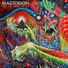 Mastodon - Once More Round the Sun - New Double Coloured Vinyl LP - Gatefold