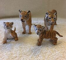 Schleich Tiger Family Bundle Joblot X4 Wildlife Two Tigers And Two Cubs