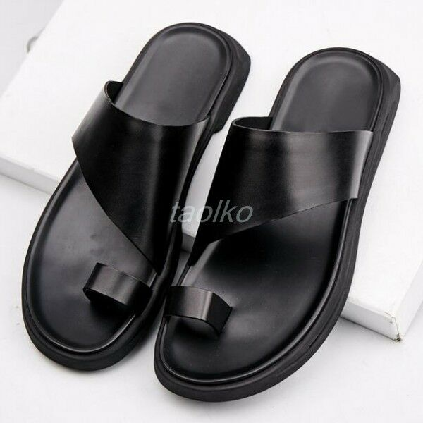 Uomo Flip Flops Sandals Slippers Flats Beach Holiday Outdoor Shoes Casual Thong