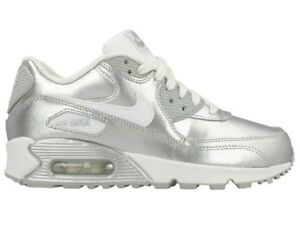 8d35c358ec6f Nike Air Max 90 Premium Leather GS 724871-100 Youth US 7 Women s US ...
