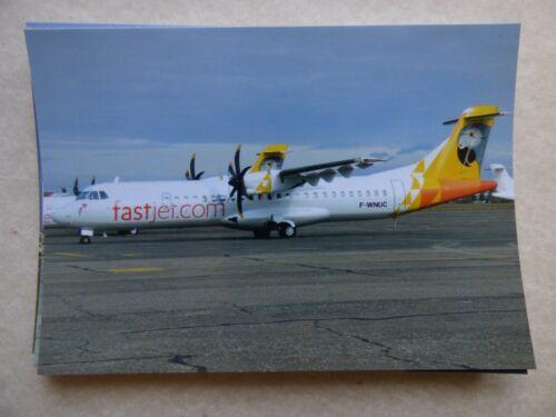 collection vilain N° 1022 FASTJET  ATR 72 600   F-WNUC