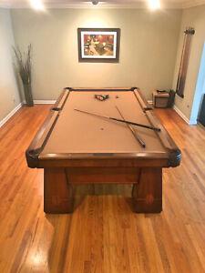 034-MEDALIST-034-Antique-Billiard-Table-Professional-9-Foot-Size-50-x-100