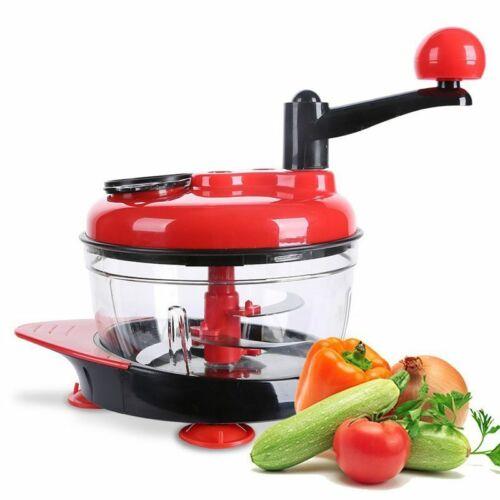Multifunction Food Processor Kitchen Manual Food Vegetables Chopper Cutter  G8V3