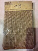 Tim Holtz Idea-ology Textured Surfaces, 4 Corrugate, 3 Cork and 2 Burlap NEW