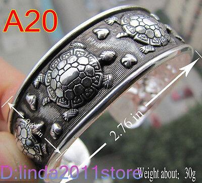 Beautiful! 40 style Tibetan Tibet Silver Totem Bangle Cuff Bracelet