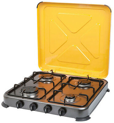 GASMATE TURBO 4 BURNER STOVE (DISPLAY MODEL) Gas Camping Camp Portable Cooker