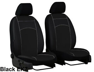 VW CRAFTER FACELIFT 2017 2018 2019 2020 ARTIFICIAL LEATHER TAILORED SEAT COVERS