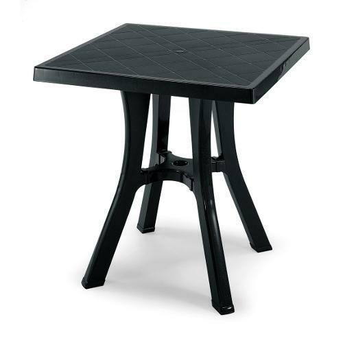 Scab 962 Tavolo da Esterno Giardino in Resina 70x70x73 cm Antracite