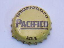 BEER Crown Bottle Cap ~ PACIFICO Brewery Cerveza ~ Mazatlin Spring Water, MEXICO