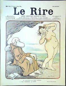 Le-RIRE-N-331-du-9-Mars-1901-la-tentation-de-St-Antoine