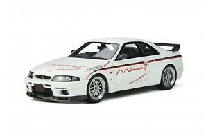 OT824 1/18 Nissan Skyline GT-R (R33) Mine'S 1998 White ottomobile