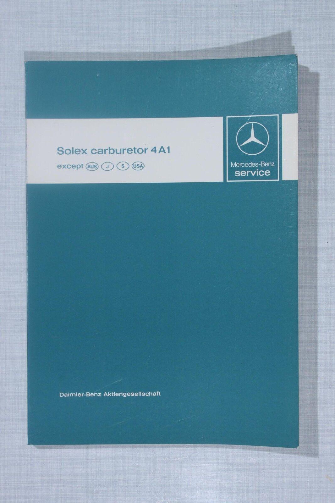 Mercedes-Benz Solex Introduction into Service Manual 4A1 Carburetor on triumph tr6 wiring diagram, triumph spitfire forum, triumph spitfire brochure, triumph spitfire parts, triumph spitfire engine swap, triumph tr7 wiring diagram, triumph tr4 wiring diagram, triumph spitfire 1500, triumph stag wiring diagram,