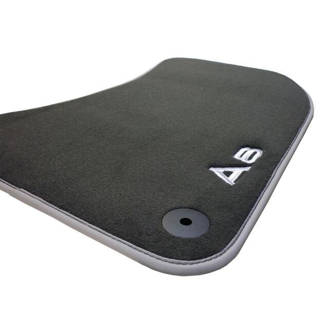 Audi A8 4H Textilfußmatten Premium vorn 4H1061275 MNO Stoffmatten Velours