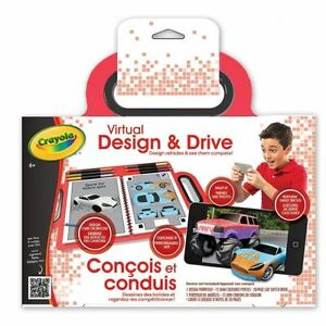 Crayola-Virtual-Design-amp-Drive-Create-Vehicles-and-Compete-App-Included-NEW