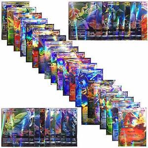 100-piezas-Pokemon-Tcg-tarjeta-de-estilo-Holo-EX-Full-Art-20GX-20-Mega-Energia-1-59