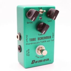 Mosky-demone-ts808-TUBE-SCREAMER-sovraccarico-PRO-VINTAGE-Elektor-chitarra-EFFE-d2w6