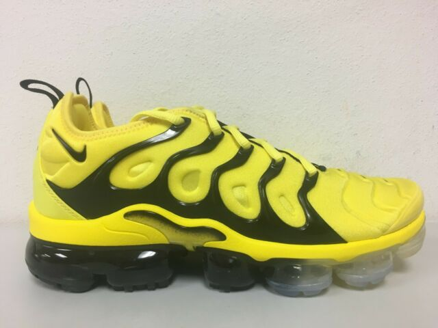 the best attitude 049af 5f003 Nike Air Vapormax Plus Opti Yellow Black Bumblebee Bv6079 700 Men's Size 9.5