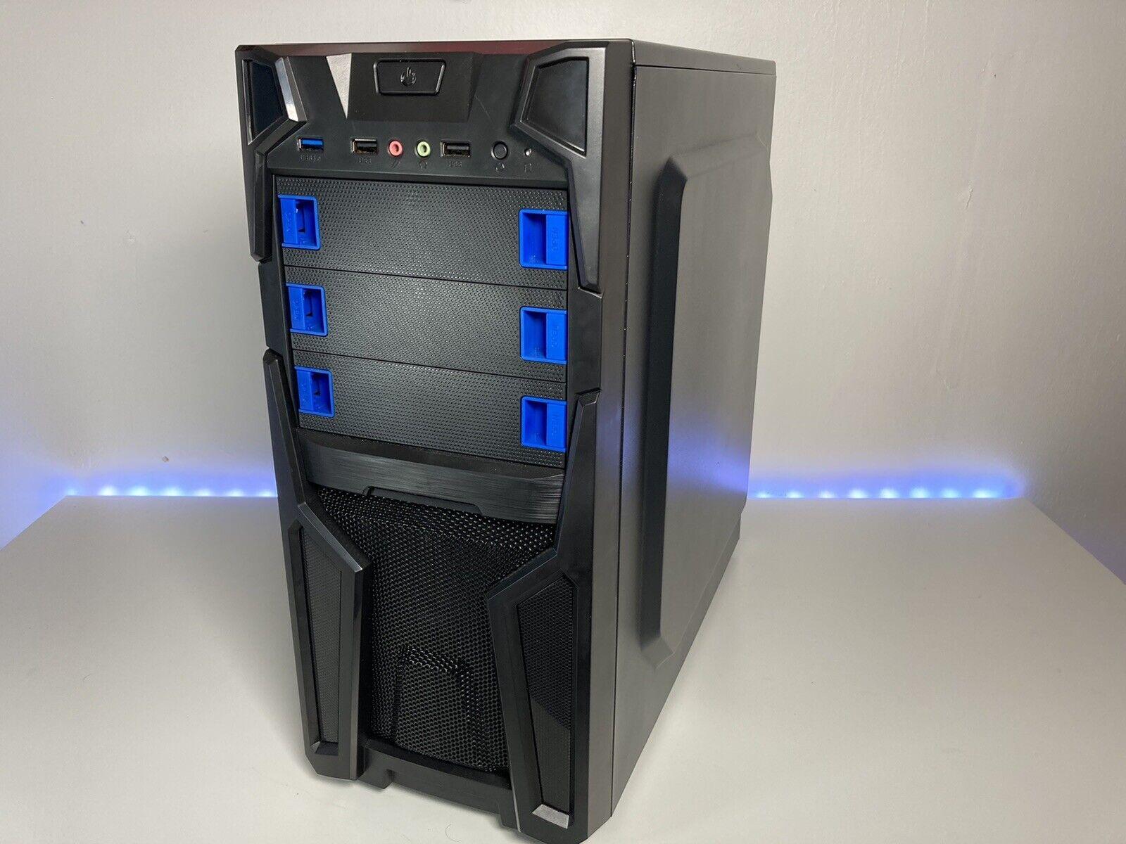 Intel i5 Gaming PC (Core i5, 16GB RAM, 120GB SSD, 1TB HDD, Windows 10)