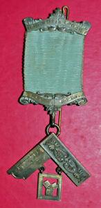 Masonic Past Master's Jewel Leodiensis Lodge No 4029 sterling silver