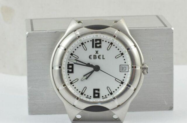 Ebel E-Type Men's Watch Steel/Steel Quartz Men's Watch without Bracelet 9187C41