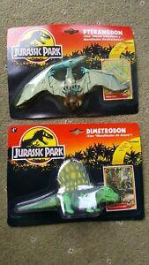 Paire De Pteranodon Et Dimetrodon De 1993 Jurassic Park
