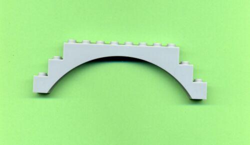 6108 Arc gris//MdStone 1 x 12 x 3 LEGO Pont