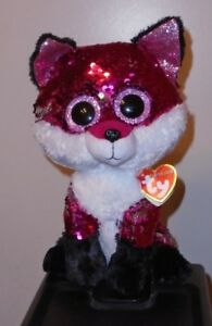 a2a031dd0a5 Image is loading Ty-FLIPPABLES-JEWEL-the-Fox-Changing-Sequins-Medium-